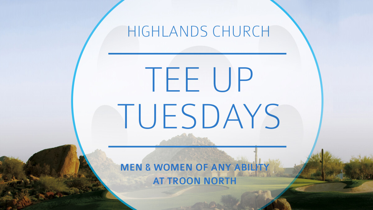 Tee-Up Tuesday