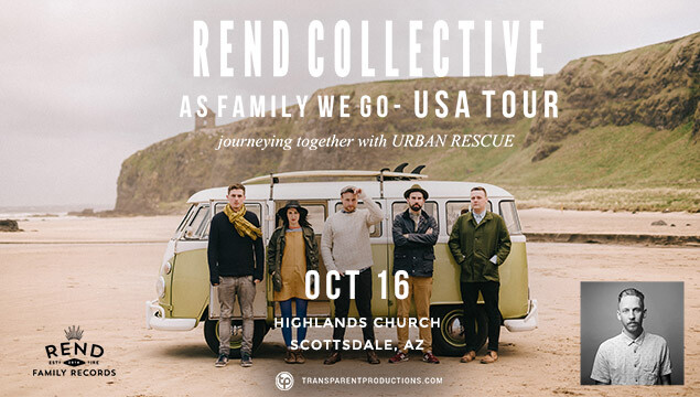 Rend Collective - October 16th