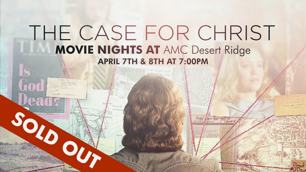 """The Case for Christ"" Movie Nights"
