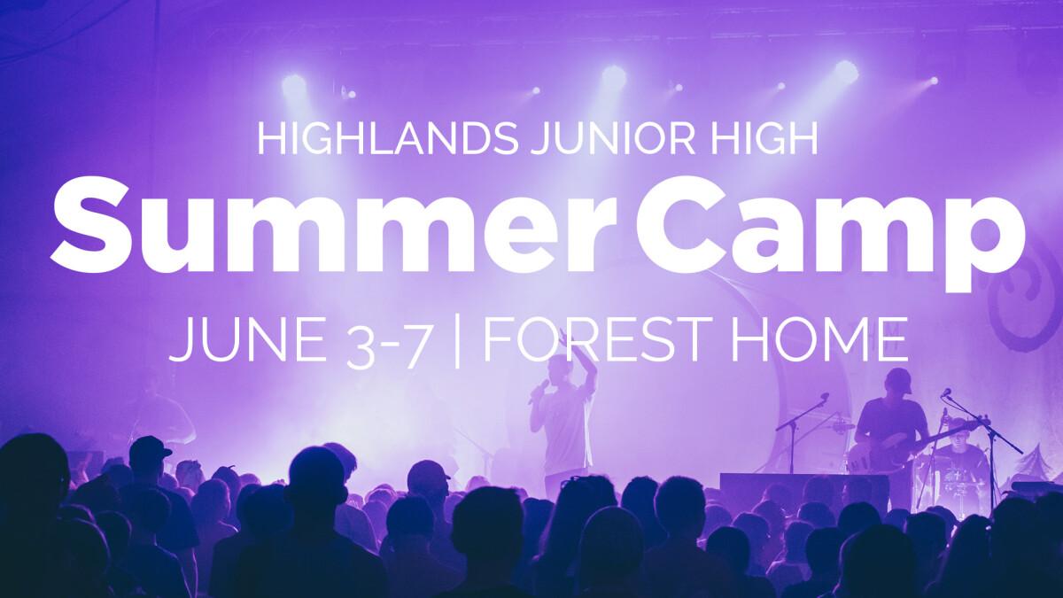 Junior High: Summer Camp