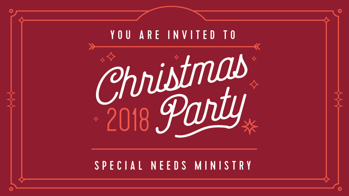 Special Needs Christmas Party Highlands Church